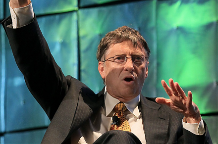 With prescient clairvoyance, Bill Gates predicted the recent rise of Facebook and Netflix.
