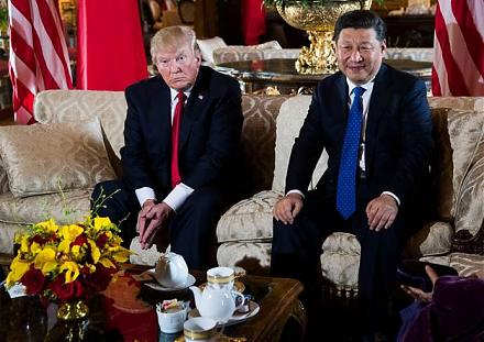 President Trump meets Chinese President Xi for better economic reforms.