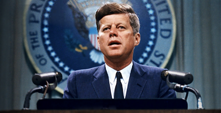President Trump allows most JFK files to be released to the general public.
