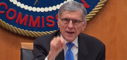 The Federal Communications Commission (FCC) considers its majority vote to dismantle net neutrality rules.
