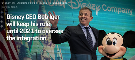 Disney acquires 21st Century Fox in a $52 billion landmark deal.
