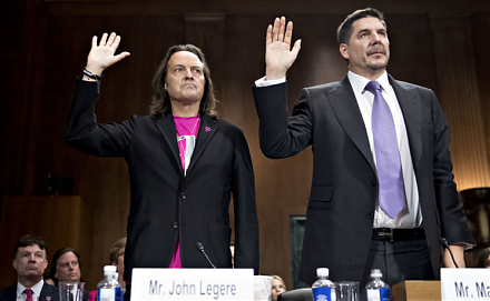 Sprint and T-Mobile propose a major merger in order to better compete with AT&T and Verizon.
