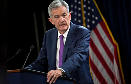 Fed Chair Jerome Powell sees a remarkably positive outlook for the U.S. economy in early-October 2018.