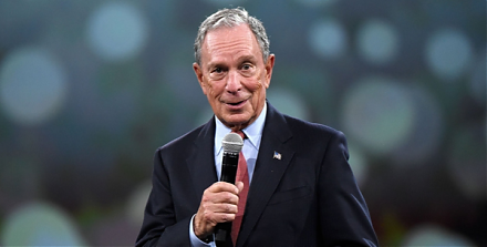 Michael Bloomberg helps Democrats flip the House in the midterm elections and then gears up his presidential bid.