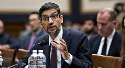 Google CEO Sundar Pichai makes his debut testimony before Congress.
