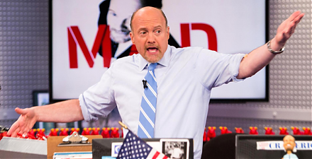 CNBC stock host Jim Cramer recommends Caterpillar and Home Depot during the current U.S. stock market rally.
