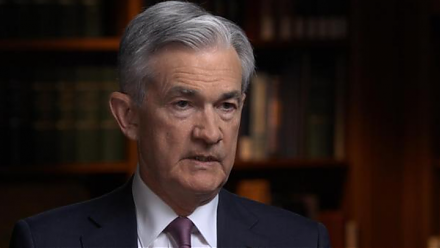 Fed Chair Jerome Powell answers CBS News 60 Minutes questions about the recent U.S. economic outlook.