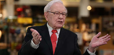 Warren Buffett places his $58 billion stock bets on Apple, American Express, and Goldman Sachs.