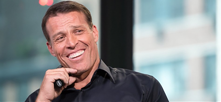 Tony Robbins suggests that one has to be able to make money during sleep hours in order to reach financial freedom.