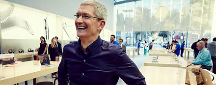 Apple is now the world's biggest dividend payer with its $13 billion dividend payout.