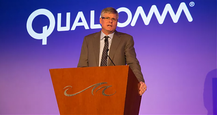 E.U. antitrust regulators impose a fine on Qualcomm for advancing its exclusive microchip deal with Apple.