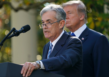 The new Fed chairman Jerome Powell faces a new challenge in the form of core CPI rate hikes toward 1.8%-2.1%.
