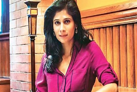 The International Monetary Fund (IMF) appoints Harvard professor Gita Gopinath as its chief economist.