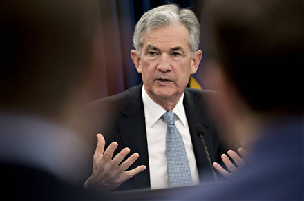 Fed Chair Jerome Powell hints slower interest rate increases because the current rate is just below the neutral threshold.