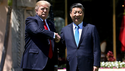 Chinese President Xi JingPing calls President Trump to reach Sino-American trade conflict resolution.