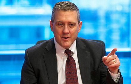 St Louis Federal Reserve President James Bullard indicates that his ideal baseline scenario remains a mutually beneficial China-U.S. trade deal.