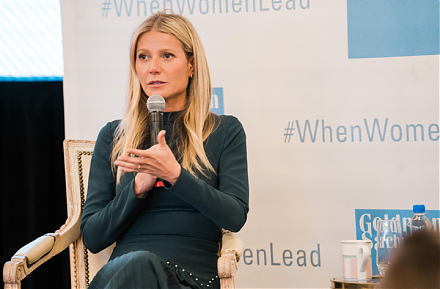 Goop Founder and CEO Gwyneth Paltrow serves as a great inspiration for female entrepreneurs.