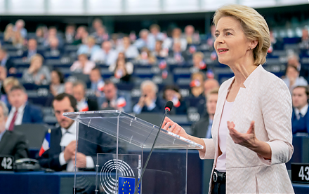 European Commission President Ursula von der Leyen now protects the European circular economy and green growth from 2020 to 2050.