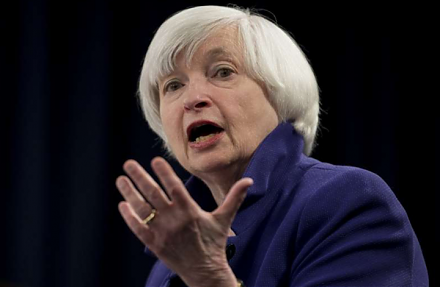 Janet Yellen worries about U.S. government debt accumulation, expects new interest rate increases, and warns of the next economic recession.