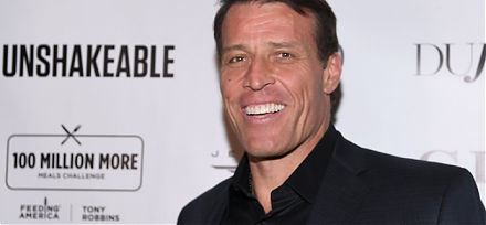 Tony Robbins recommends portfolio optimization only once a year.