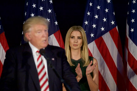 Ivanka Trump softens her father's brash and combative image with a social agenda toward female empowerment.