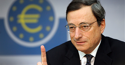 Mario Draghi declares the ECB agreement on a thorny set of revisions to Basel 3.