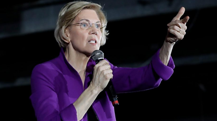 Senator Elizabeth Warren proposes breaking up key tech titans such as Facebook, Apple, Microsoft, Google, and Amazon (FAMGA).