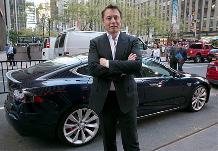 Elon Musk envisions a bold fantastic future with his professional trifecta of lean enterprises SolarCity, SpaceX, and Tesla.